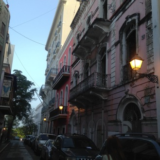 Buildings in Old San Juan