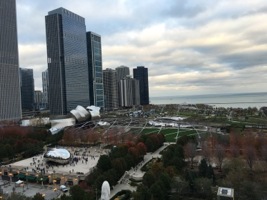 View of Millennium Park from Cindy's
