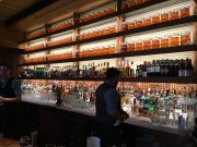 The bar at Cindy's