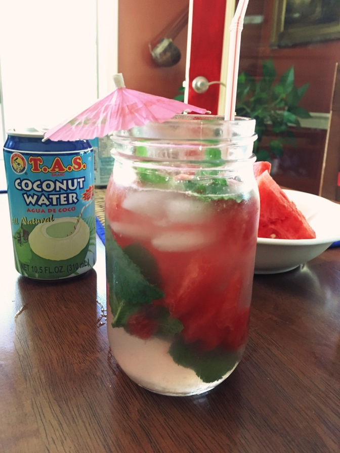 Tastebud Worthy Recipe: Coco-Melon Drink